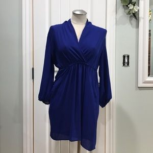 Mid-length Bar III dress.